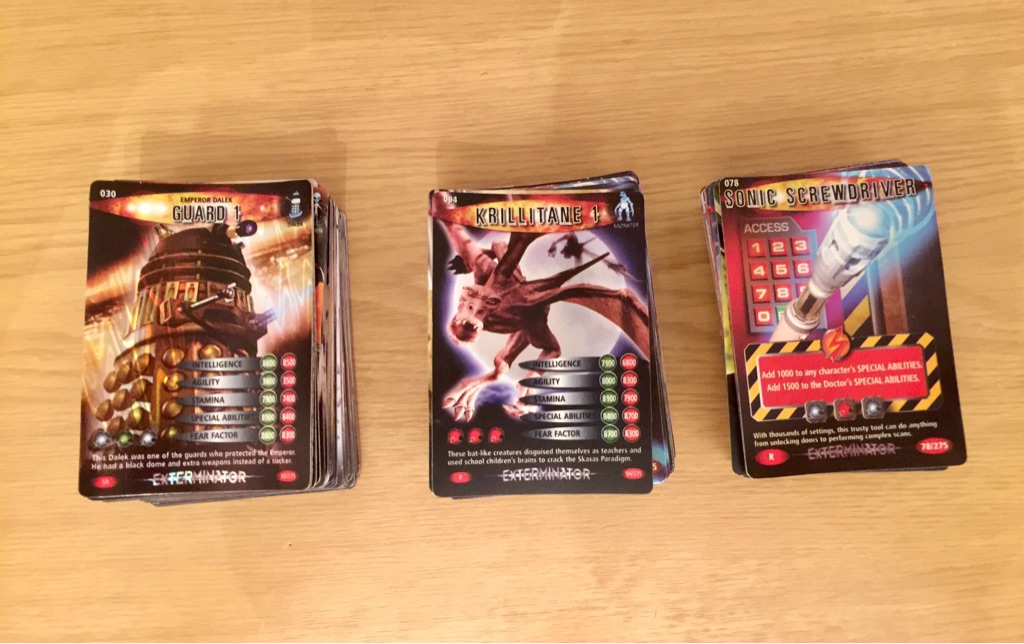 Doctor Who Battles in Time Trading Card Collection