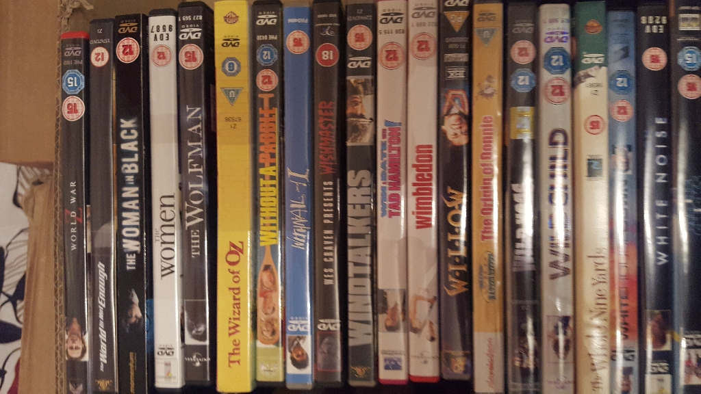 100s of DVDs for only £2 Each. First come first served. Cash and collection only.