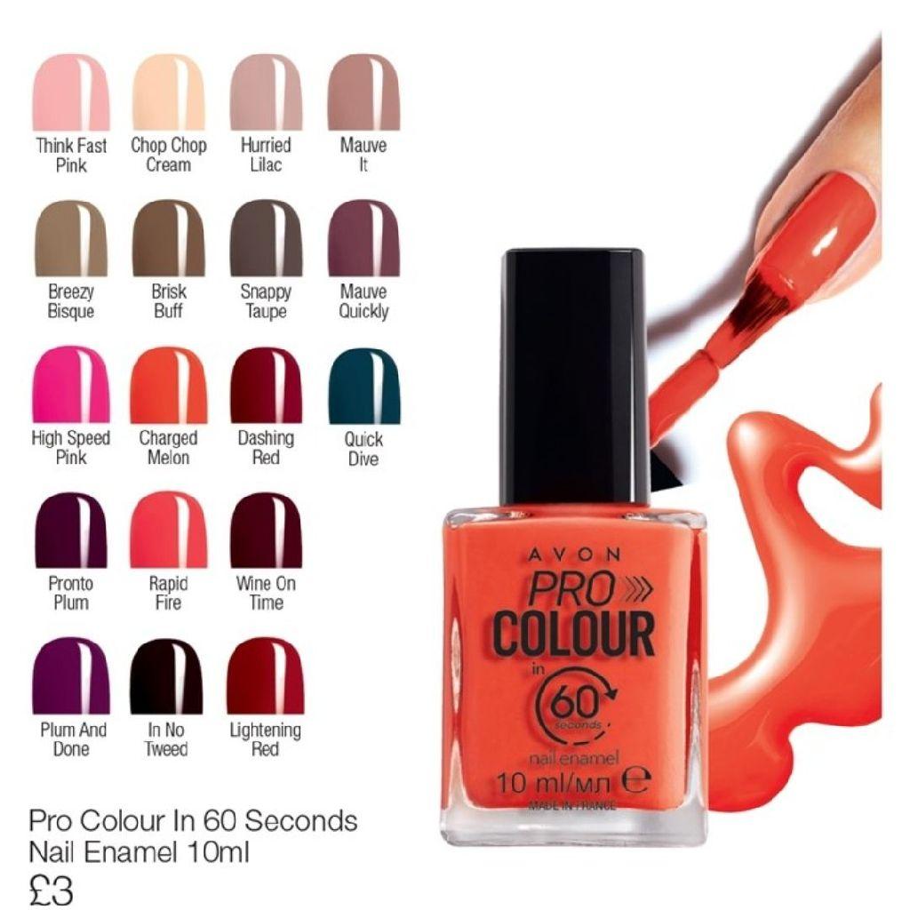 Pro colour in 60 seconds Nail Enamel