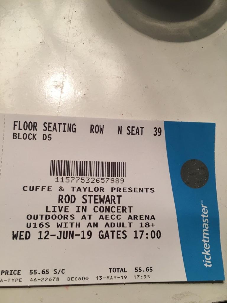 Rod Stewart Aberdeen tickets