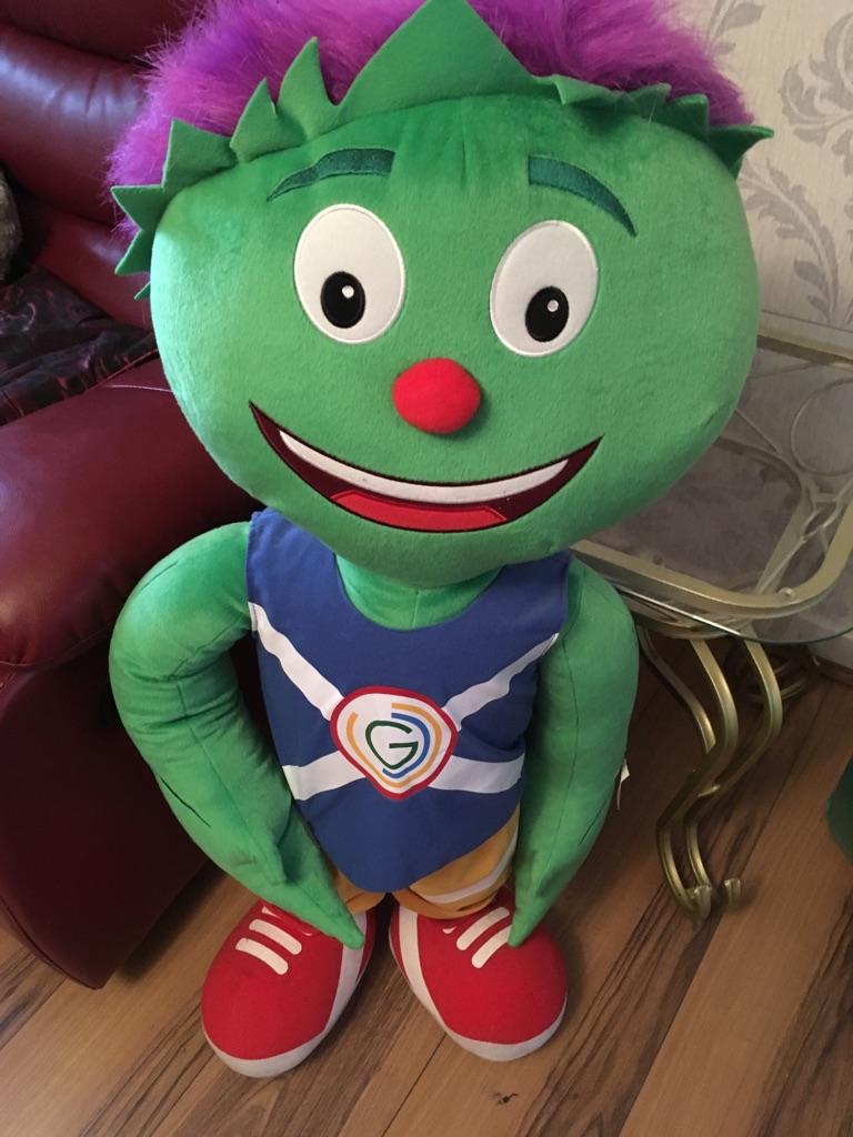 Clyde mascot