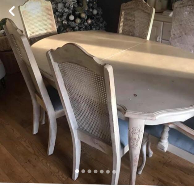 ANNIE SLOAN TABLE & CHAIRS