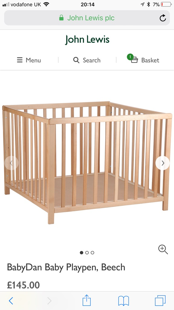 John Lewis Play Pen