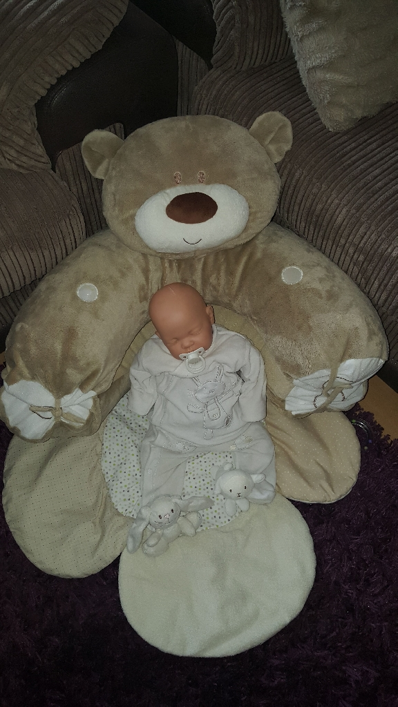 Mothercare sit me up teddy
