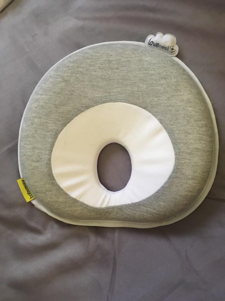 Babys flat head pillow