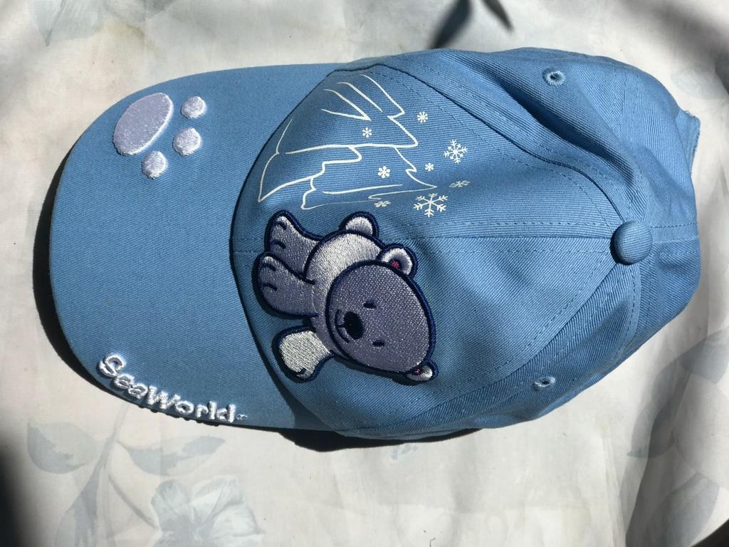 Seaworld blue cap for kids