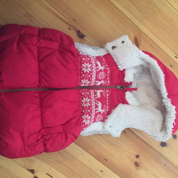 Very cosy girls gilet from Next