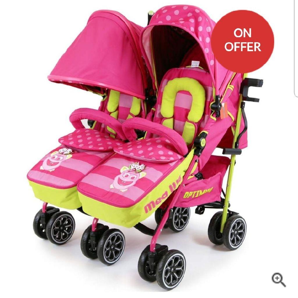 Lovely double stroller