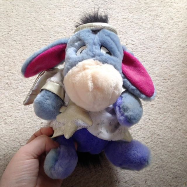 Disney Eeyore Teddy/Xmas Tree Topper