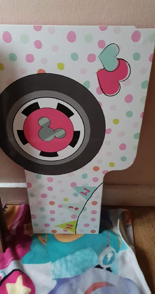 Minnie mouse campervan bed