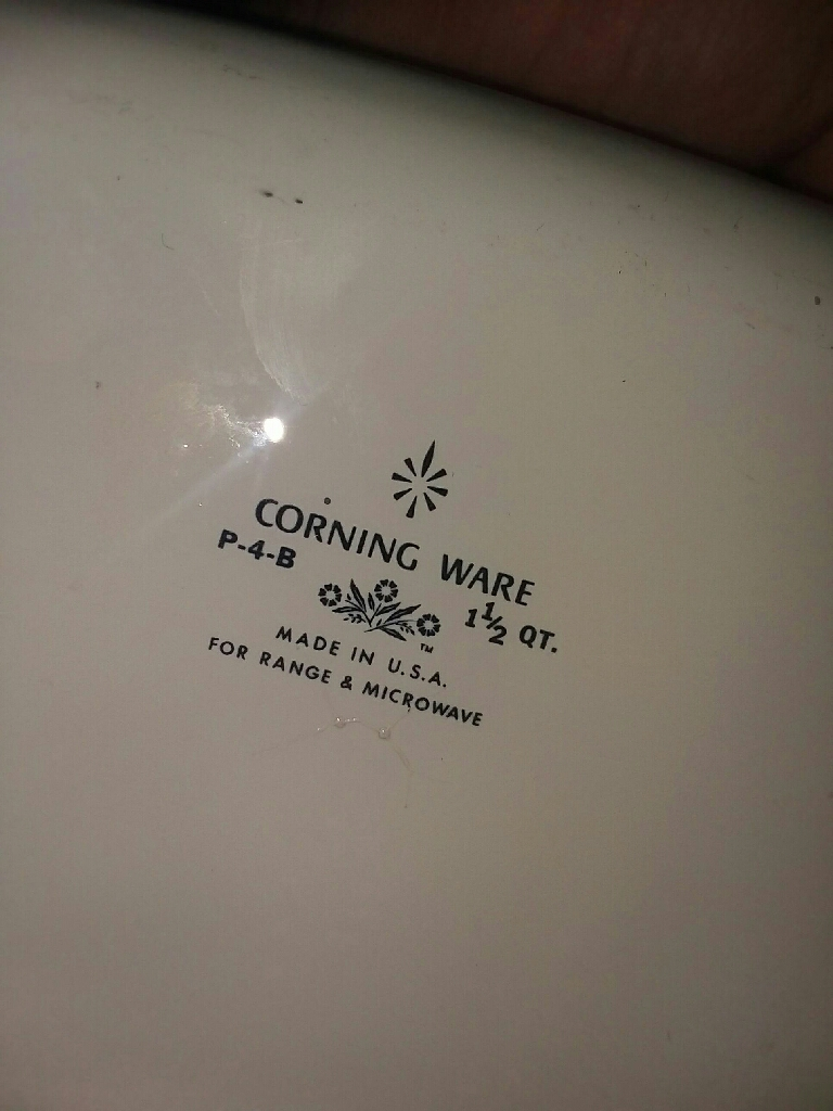 Corning ware