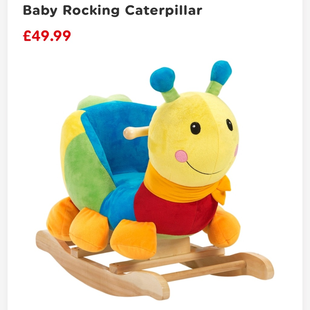 Caterpillar rocker