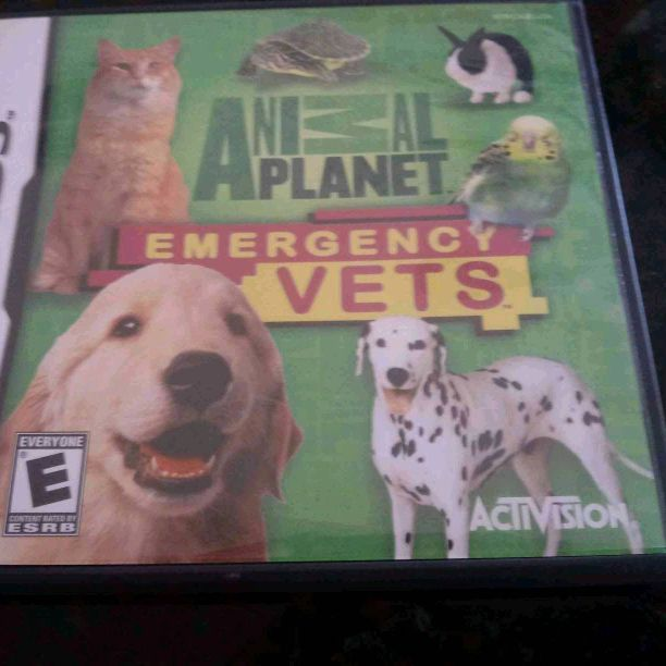 Nintendo DS animal emergency