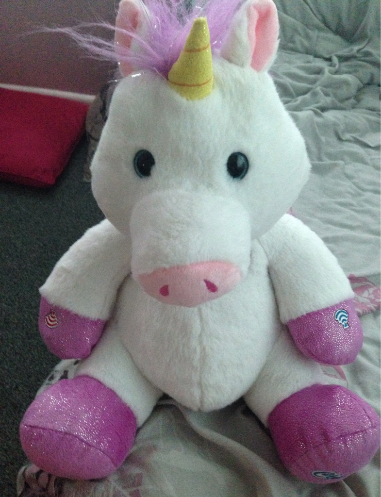 Unicorn teddy bear