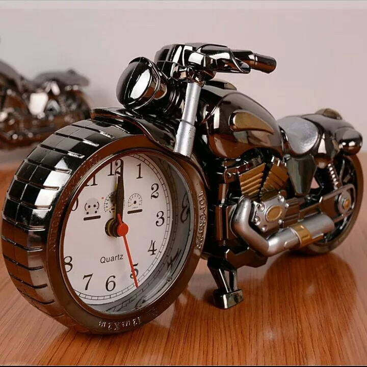 Motorcycle clock alarm