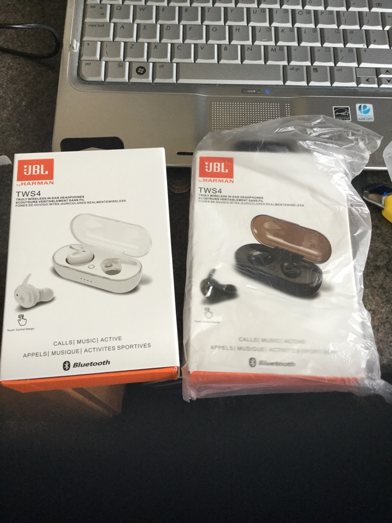 Black or White JBL Earbuds