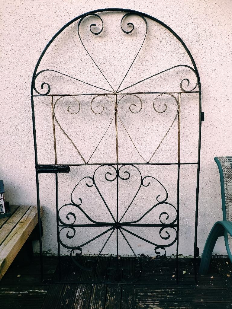 Beautiful metal Iron gate