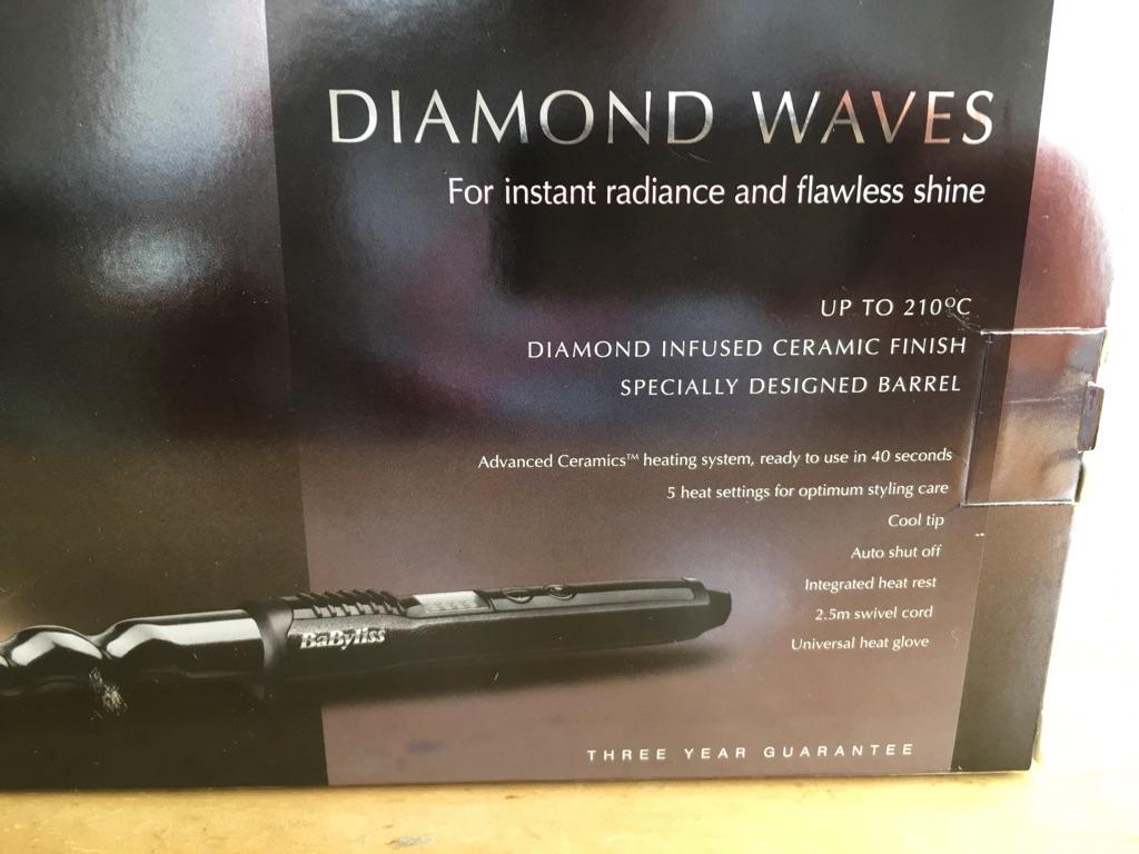 Babyliss Diamond Waves curling wand