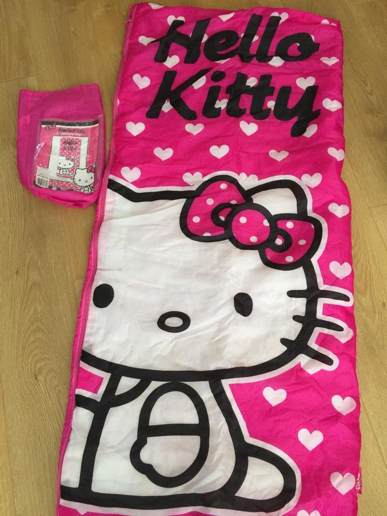 Child's Hello Kitty Sleeping Bag