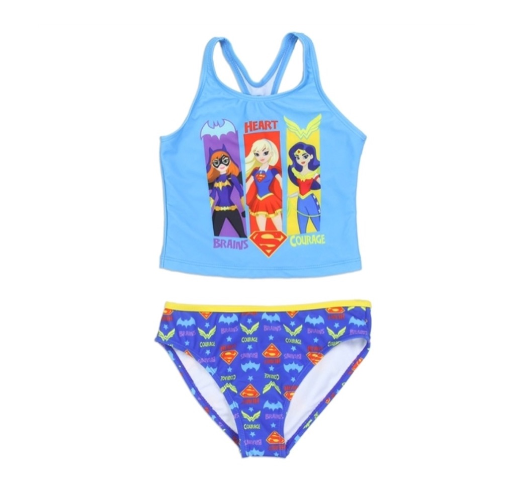 DC GIRLS SWIMSUIT