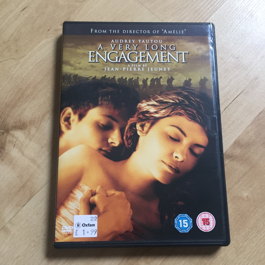 A Very Long Engagement DVD