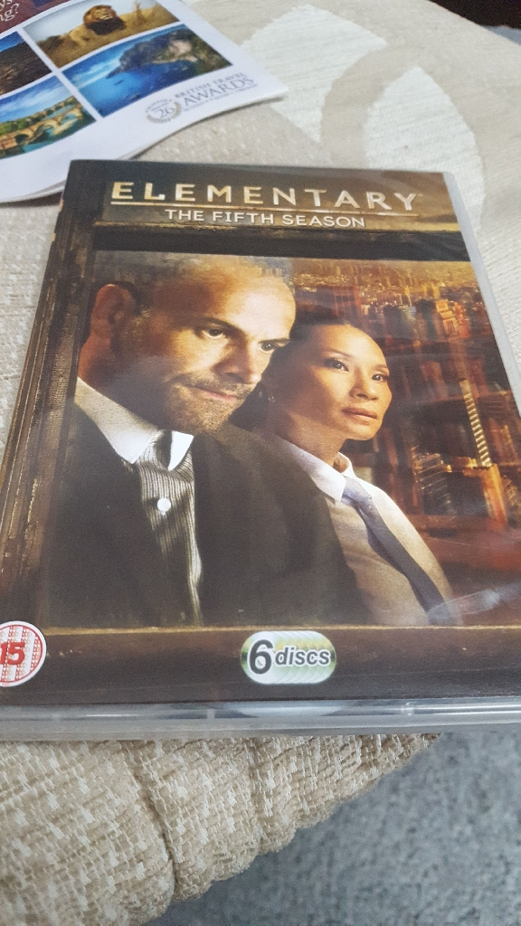 Elementary season 5 DVD