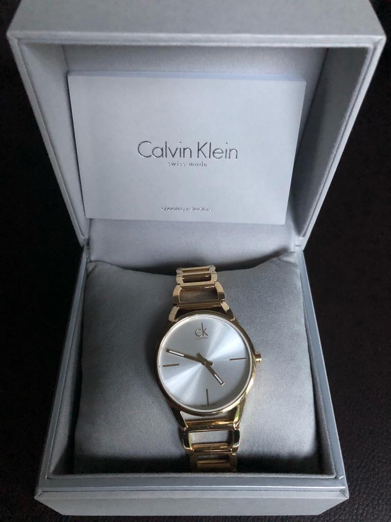 Calvin Klein ladies Gold wrist watch K3G2352W
