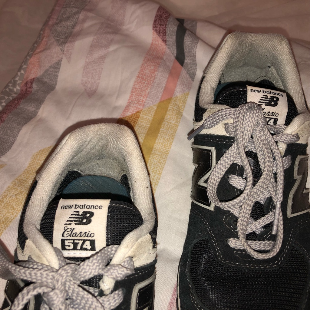 New balance women's trainers size 5