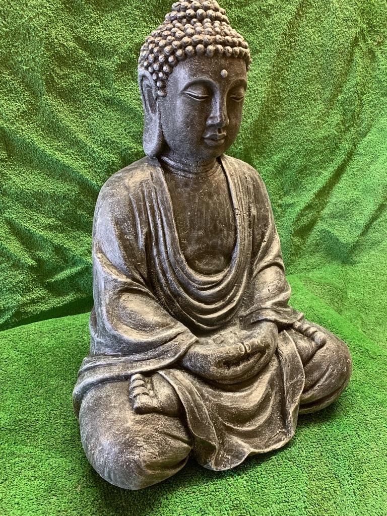 Large concrete Buddha