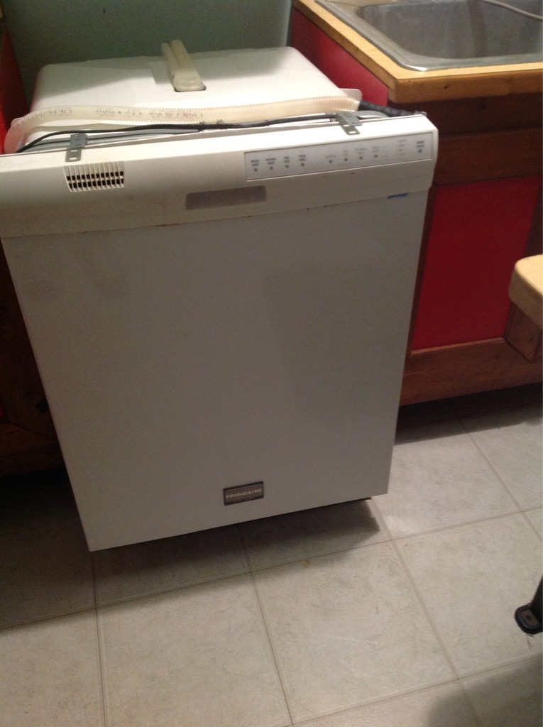 Dishwasher frigidaire