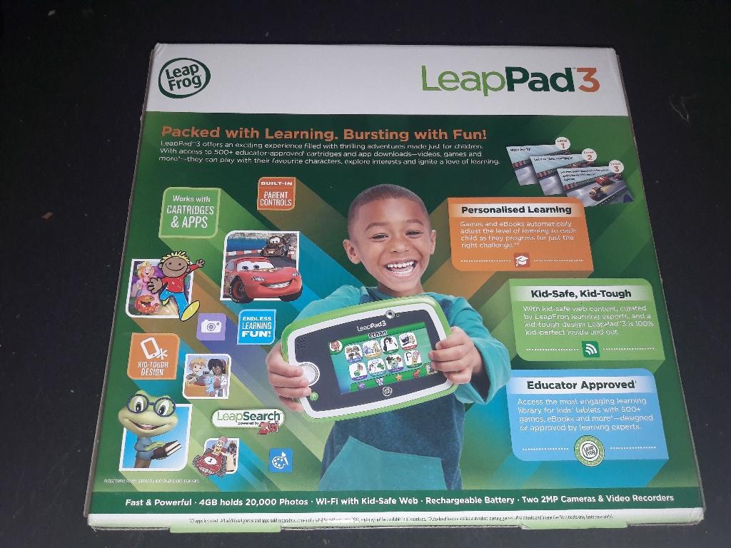 Brand new leappad 3 in box.