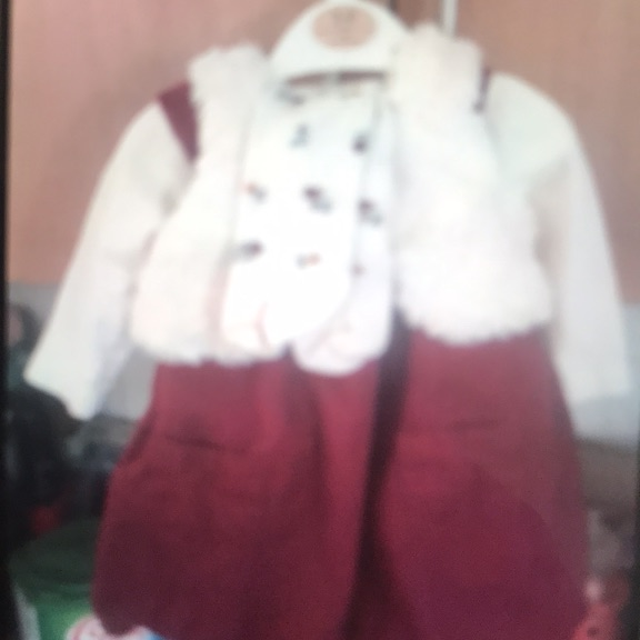 Baby girls excellent condition 4 peace dress