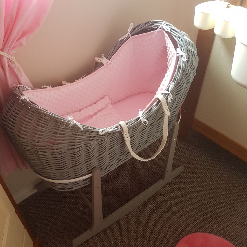Moses basket and canopy