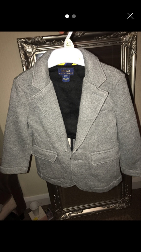 Little boys Ralph Lauren tshirt and jacket