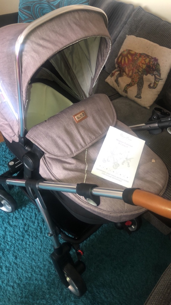 Slivercross wayfer pushchair