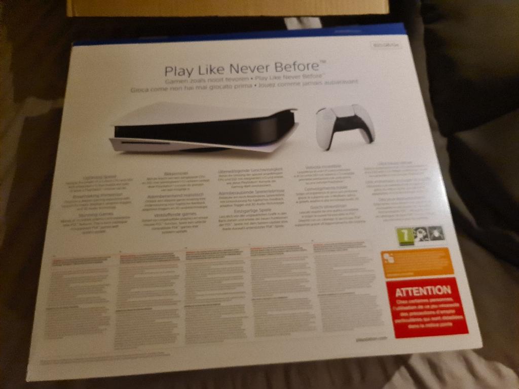 PlayStation 5 disc edition