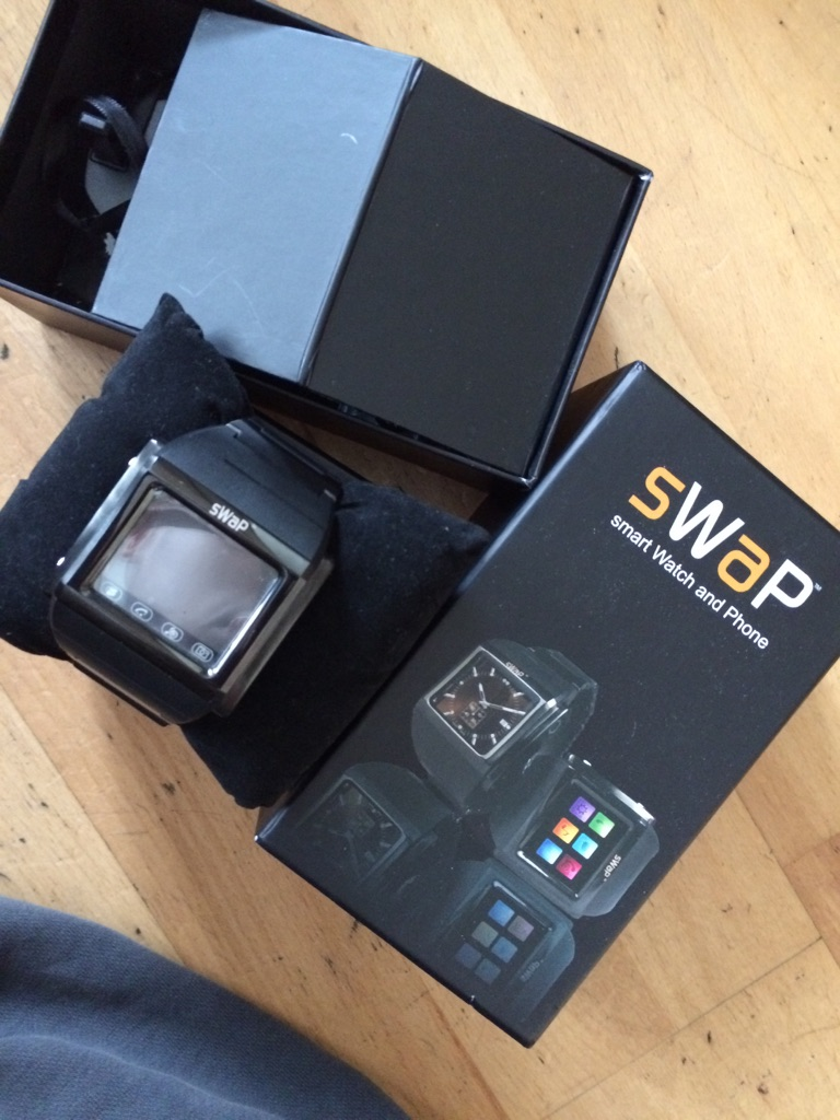 Swap Smart Watch and phone