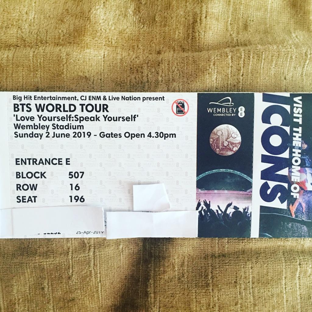 BTS WORLD TOUR (Love Yourself: Speak Yourself) tickets