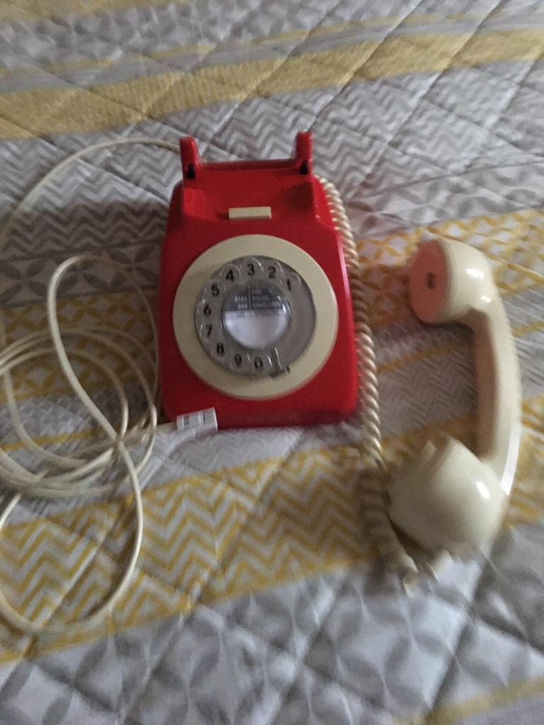 Bt original retro phone, adapted for use