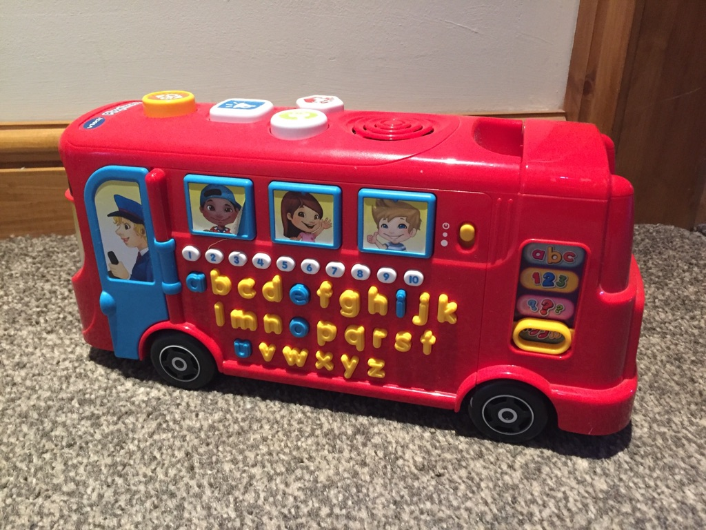Vtech bus and Fisher Price train | Village