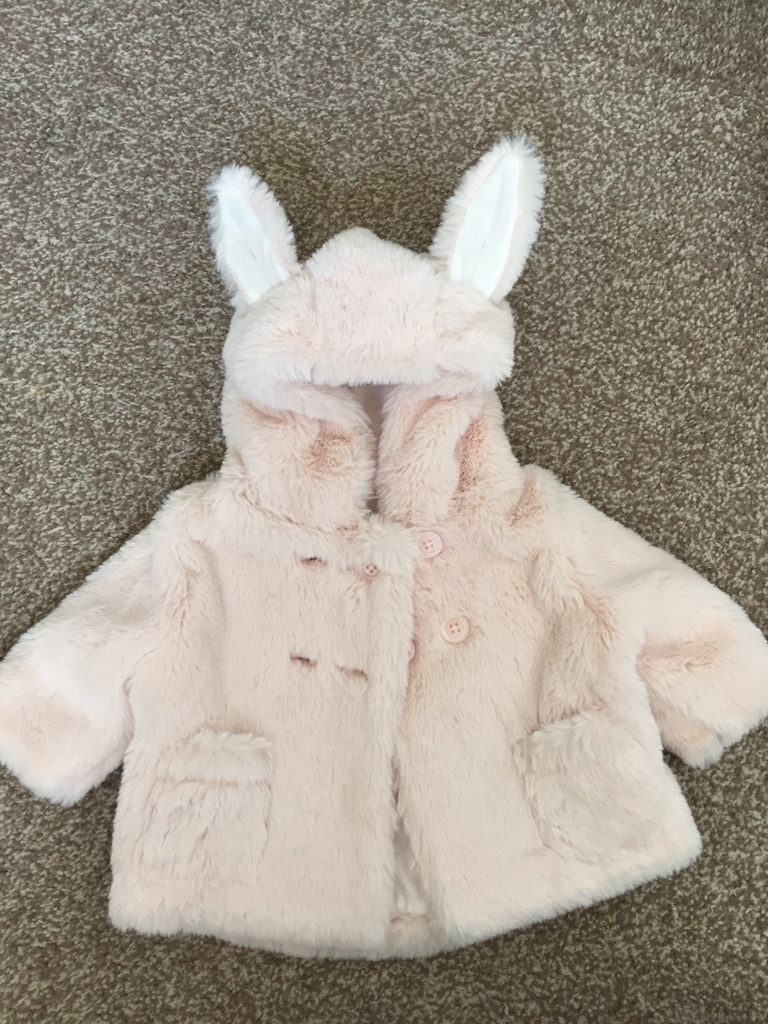 2 x next baby girl coats