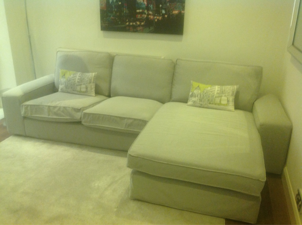 Settee and white lounger