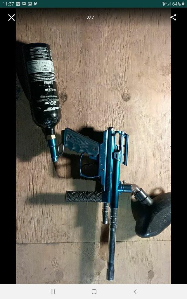 spider victor paintball gun