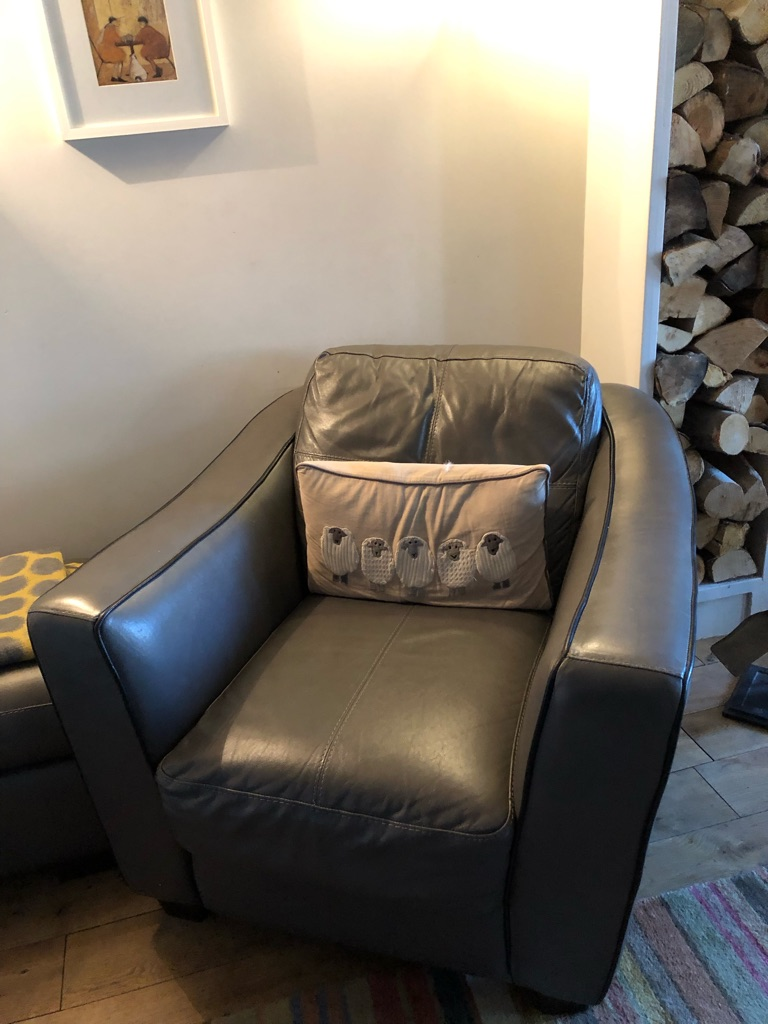 Italian leather suite