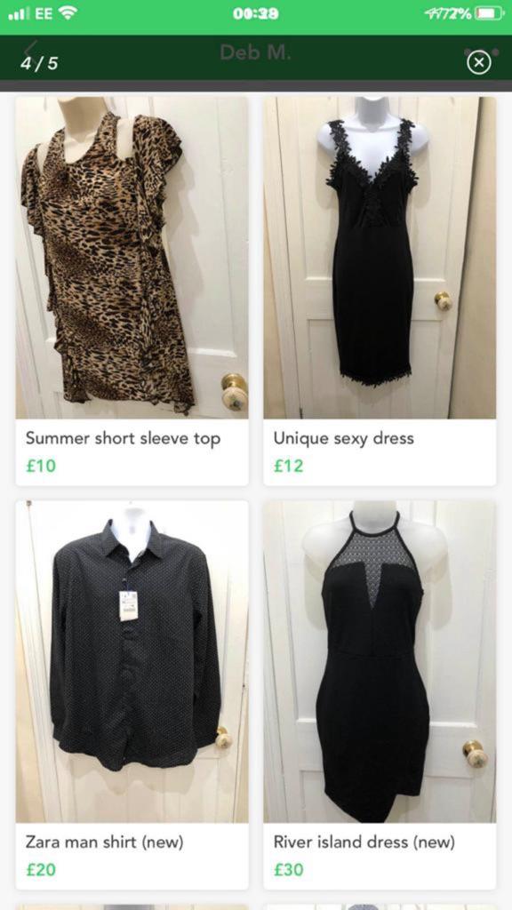 Women's bundles  of clothing