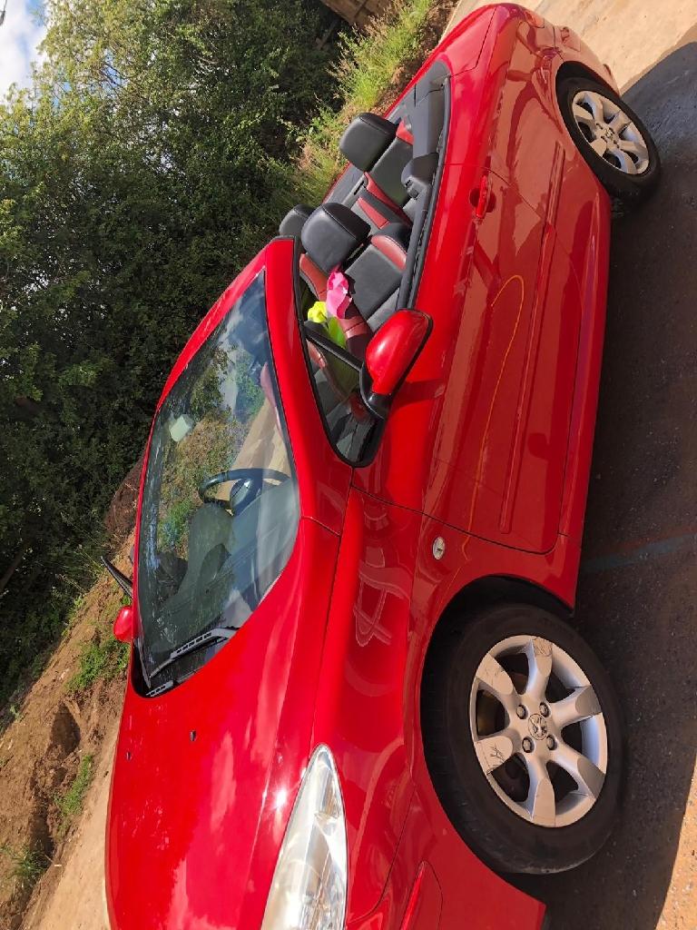 Peugeot 307 cc 2007 model 1.6 petrol