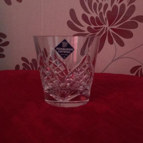 EDINBURGH CRYSTAL GLASSES