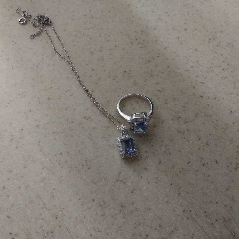 Ring nd necklace