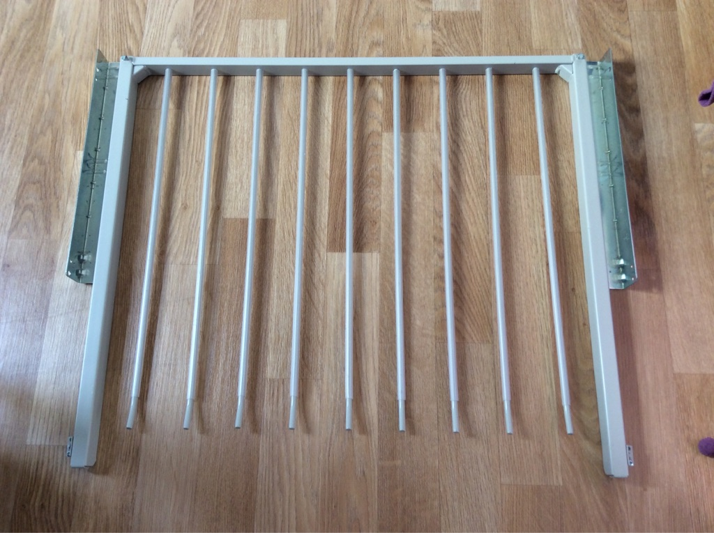 Ikea trouser sliding rail for wardrobe.