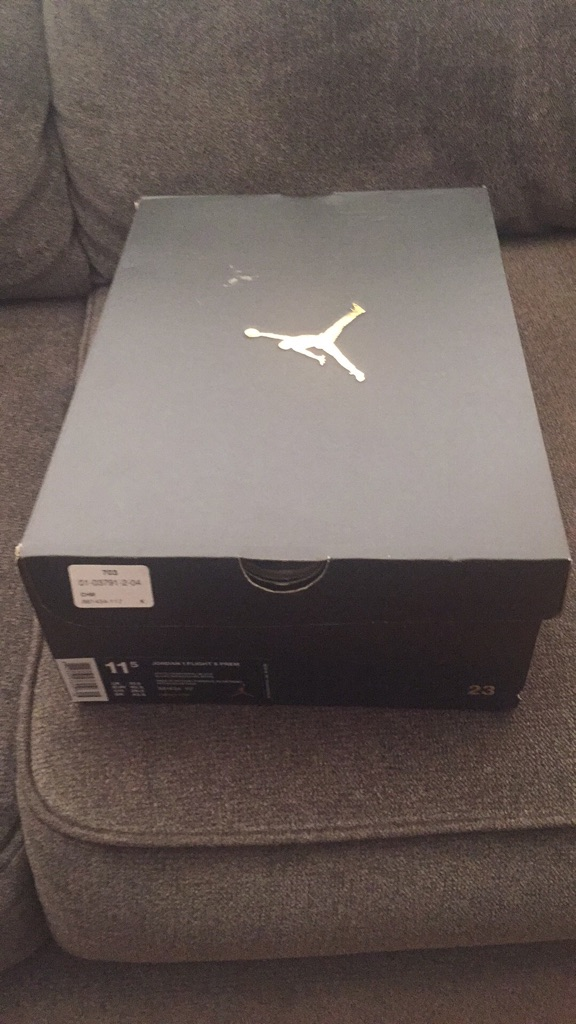 Michael Jordan's brand new never worn 11.5
